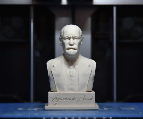 Reproducción de busto de Sigmund Freud