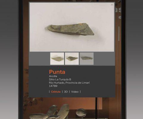 APP para cédulas de museo